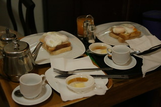 Room service at Choice Pension...£1.50 breakfast brought right to your door!