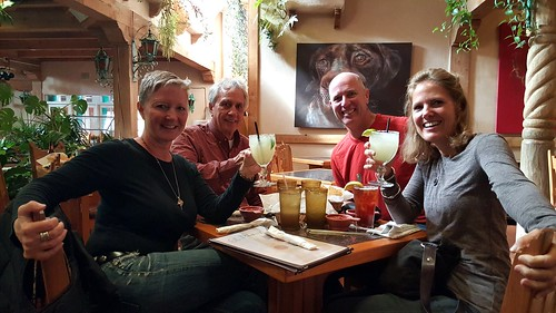 Our reunion lunch in ABQ