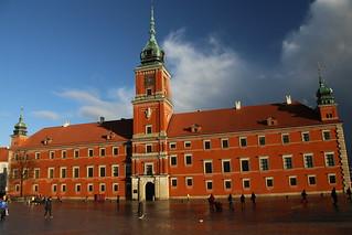 Zamek Królewski w Warszawie. Pomnik Historii i Kultury Narodowej.  The Palace of history and Culture.