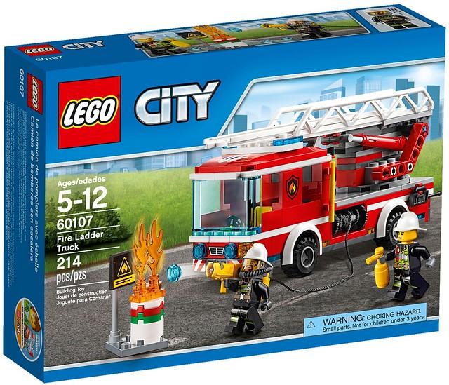 LEGO City 2016 sets   60107 - Fire Ladder Truck