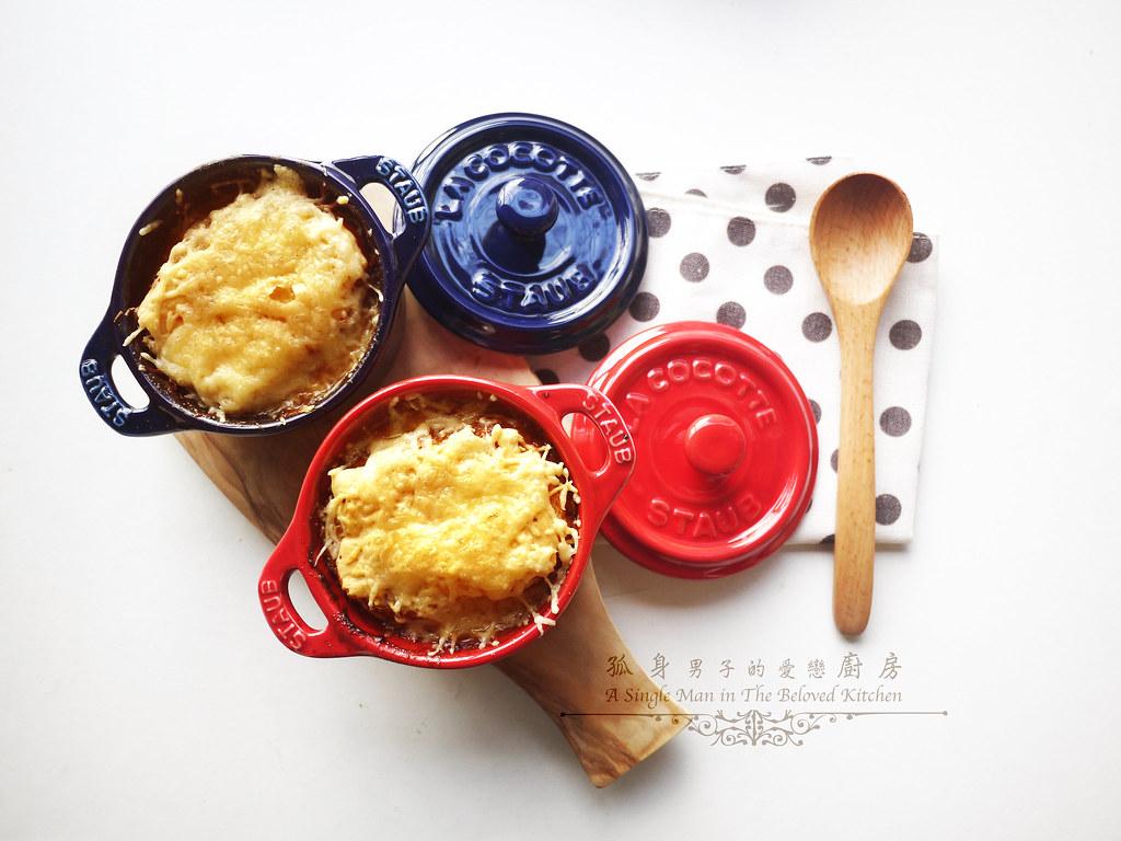 孤身廚房-小小偷吃步的法式洋蔥濃湯30