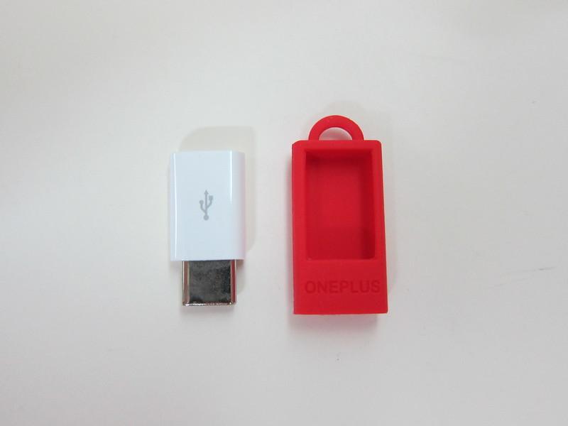 OnePlus USB Type-C Adapter - Box Contents