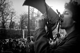 Lycéens contre la loi Fillon, 2005