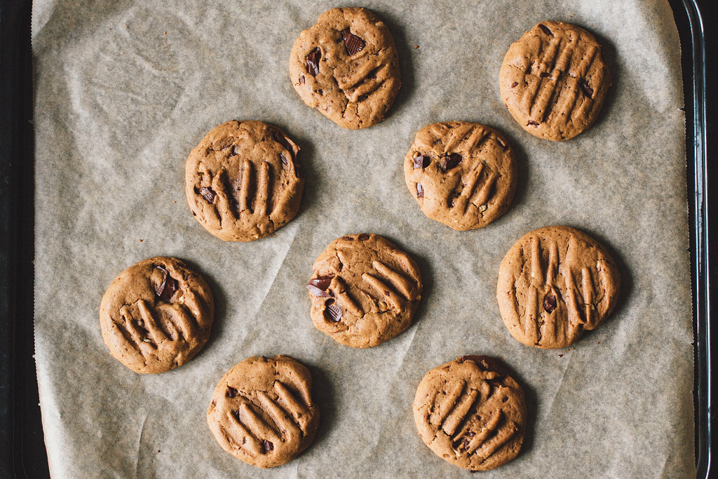 Recept: Veganska chocolate chip cookies | Matildigt