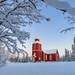 Elverhøy Kirke by John A.Hemmingsen
