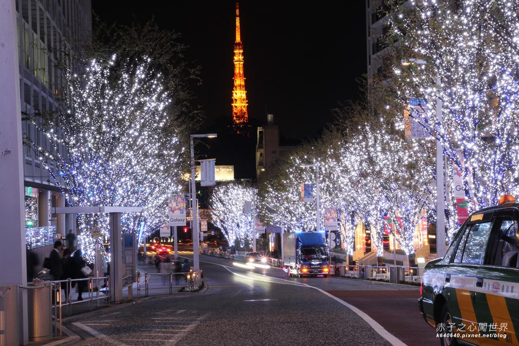 Tokyo Winter Illuminations- 六本木之丘-周圍點燈-IMG_0083084