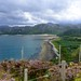Southern end of the North West Highlands Geopark, coves with white sand, blooming heather. by Blue Poppy
