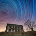 Abandone History Revisited Star Trails by Michael Ver Sprill