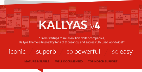 ThemeForest KALLYAS v4.0.9 – Responsive Multi-Purpose WordPress Theme