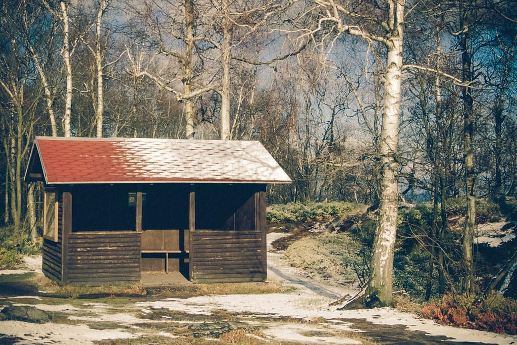 Schutzhütte auf dem Gr. Zschirnstein