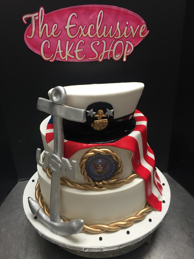 Navy Promotion Cakes