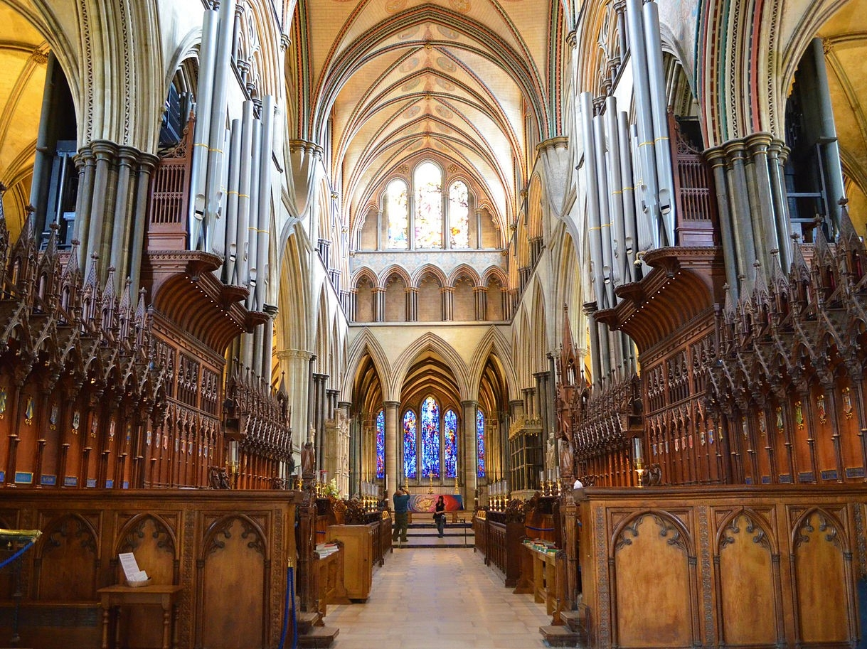 Salisbury Cathedral - The Choir. Credit: Julian guffogg