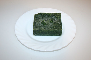 04 - Zutat Rahmspinat / Ingredient creamed spinach