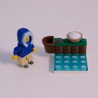 LEGO City Advent 2015 Day 3 with Figure
