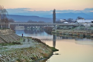 Sunset in Lugoj