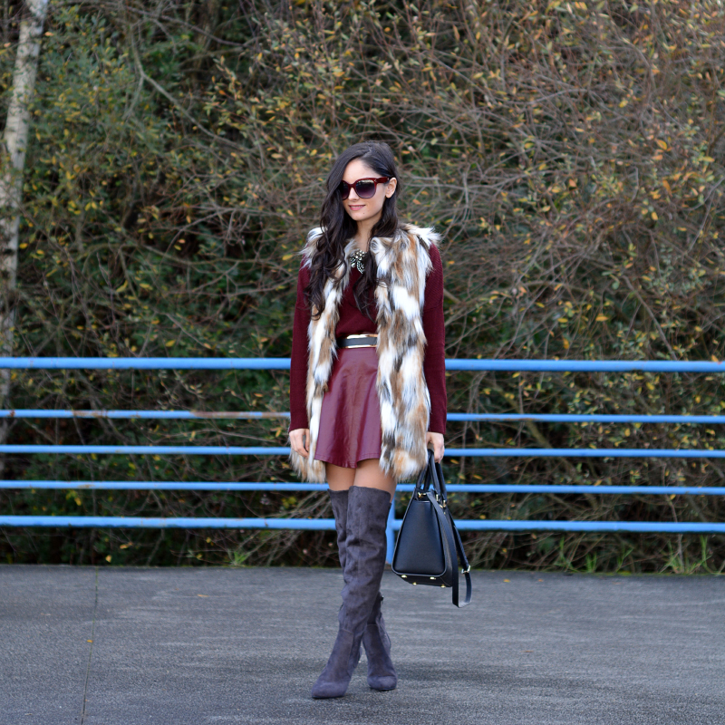 zara_ootd_highboots_burdeos_burgundy_vest_michael kors_01