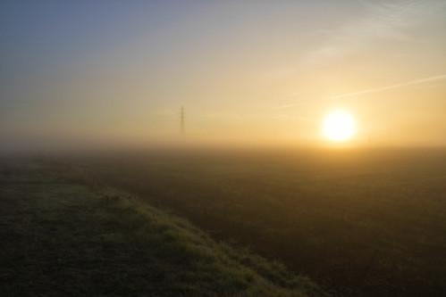 sun nature fog sunrise landscape fields φύση τοπίο ομίχλη ανατολή χωράφια ήλιοσ