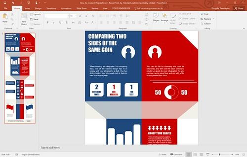 สมมติว่าทำ Infographic เสร็จแล้ว (ภาพตัวอย่างมาจาก HubSpot)