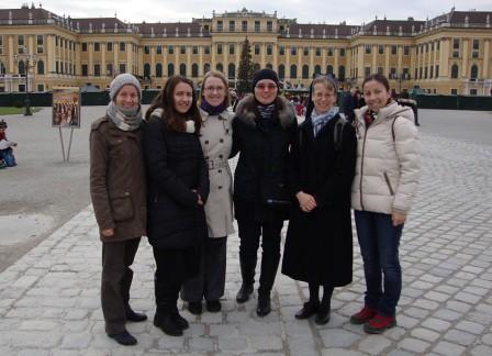 p. Anne, Ivka, Lenka, Simona, sr. Luzia, Mirka