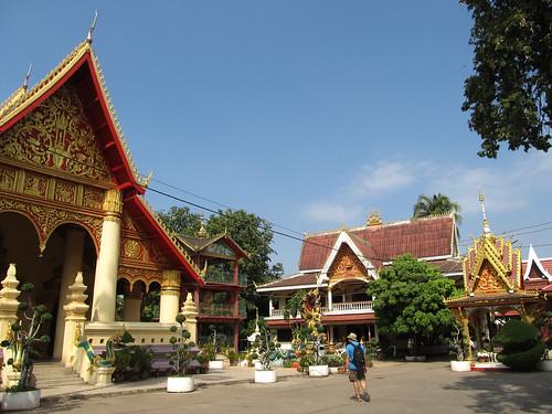 Vientiane: le temple Vat Chan(thaboury)