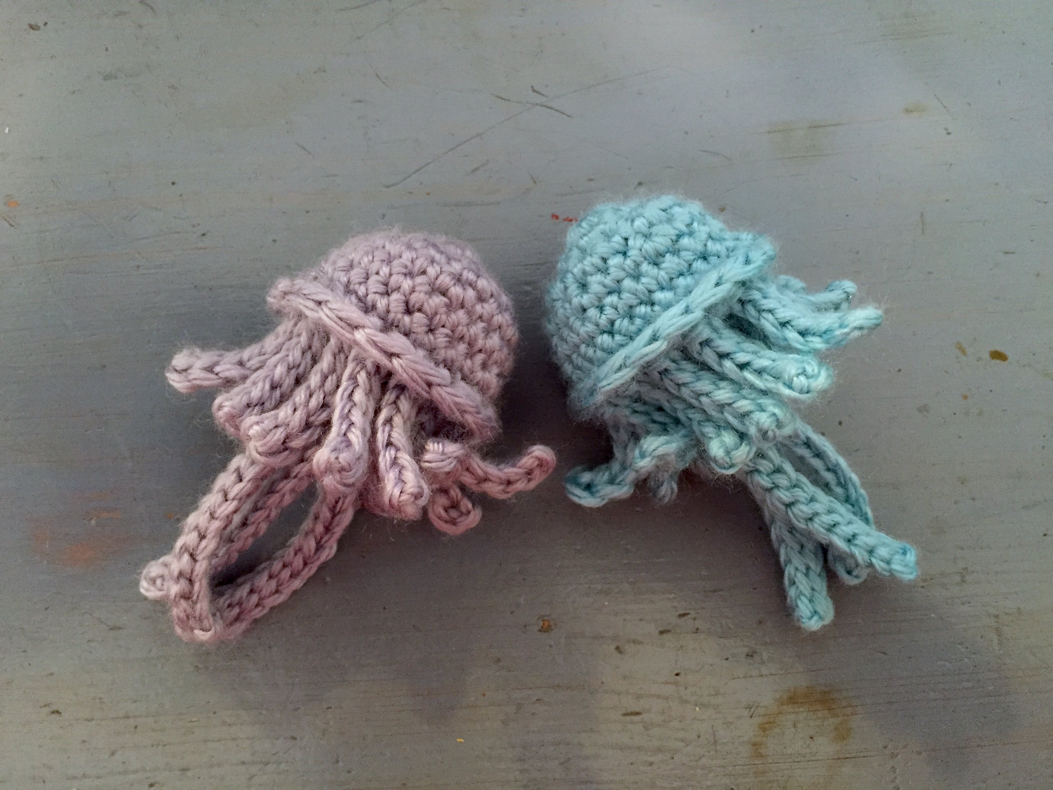 Free Crochet Patterns For Sea Animals : Suvis Crochet: Sea Life - Jellies