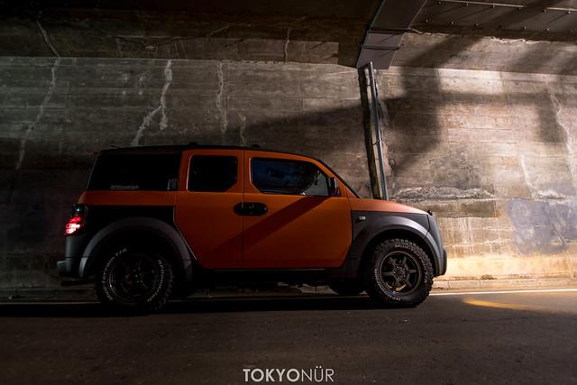Honda Of America Element+Tokyonür Concept -Project Rocket Rally 2016-