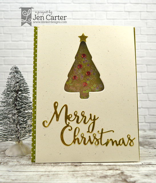Jen Carter Christmas Flower Tree Christmas Word 1 wm
