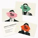 Very creative business card idea. Allows for personalization but streamlined bra...