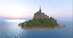 Mont Saint Michel is back in Second Life