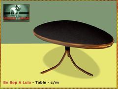 Bliensen - Be Bop A Lula - Table