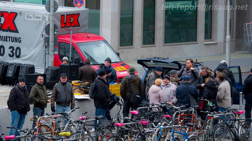 26.11.2016 - BärGiDa & Gegenprotest
