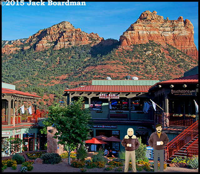 Chris and Wyatt in Sedona Arizona