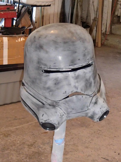 Flametrooper Prepped for Paint