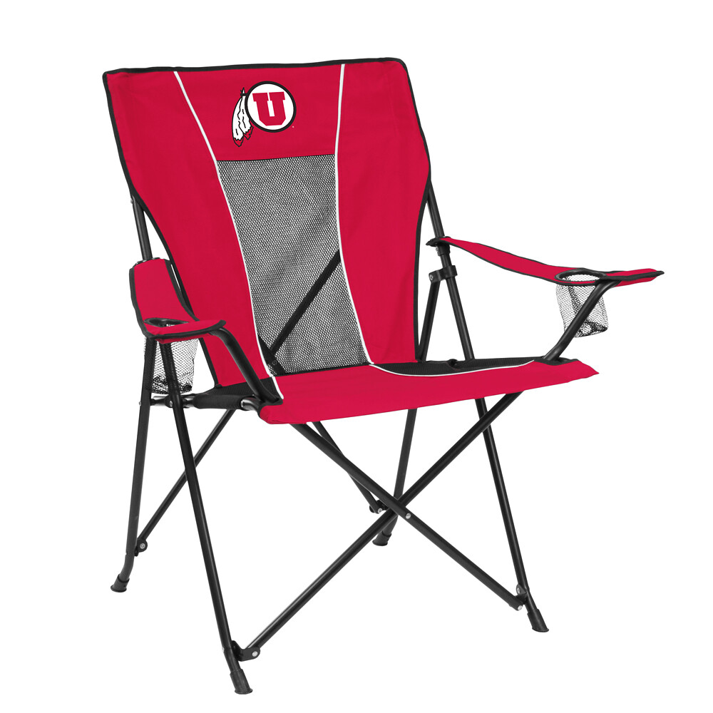 Utah GAME TIME TailGate/Camping Chair