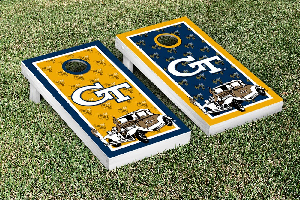 Georgia Tech Yellow Jackets Border Version 2