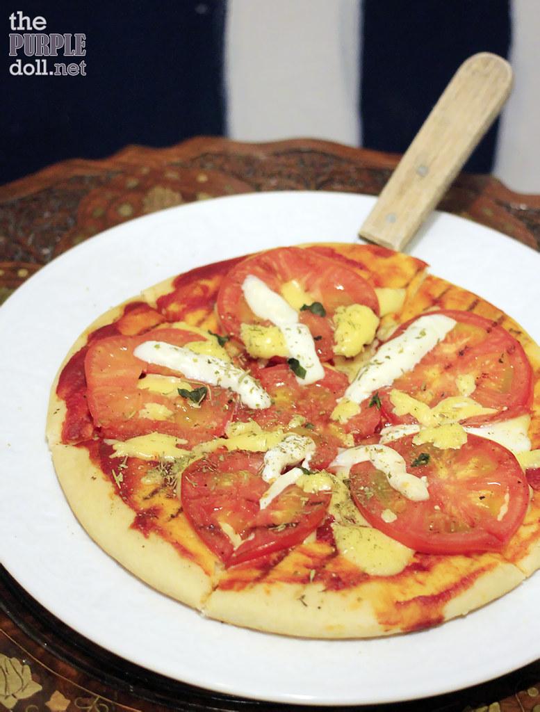 Pizza Caprese (P295)