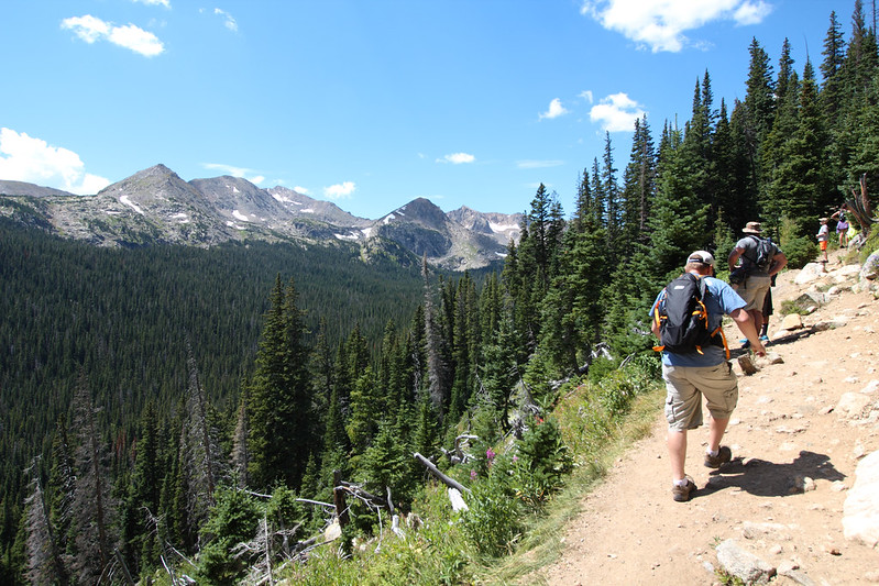 Hiking at Indian Peaks Wilderness