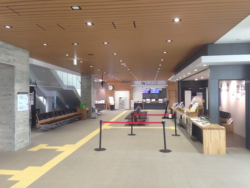 rishiri-island-oshidomari-ferry -terminal-first-floor