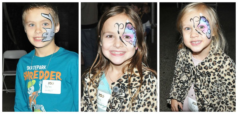CFA Family Night at the Pittsburgh Zoo Face Painting