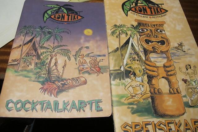 Kon Tiki menus