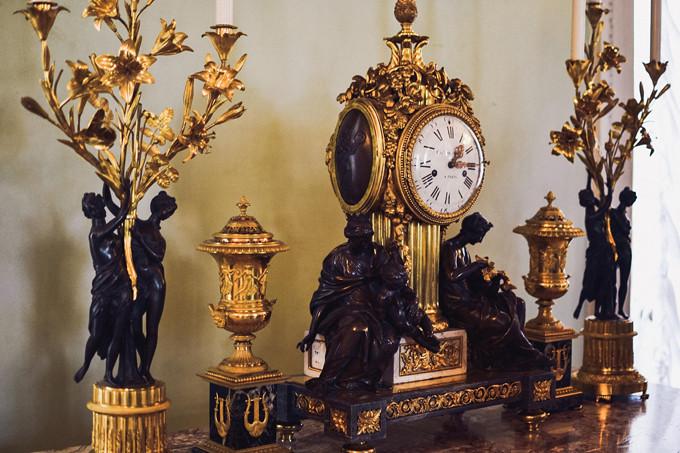 pavlovsk palace clock