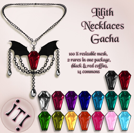 !IT! - Lilith Necklaces Gacha Image