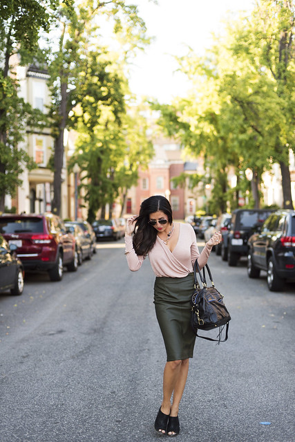 Lust List: Leather Skirts