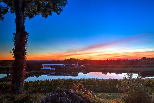 sunset newyork fall dutchess 2015 millbrookwinery 5d2