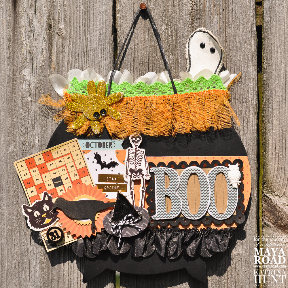 BOO-Witch's Kettle-Maya Road and Crate Paper