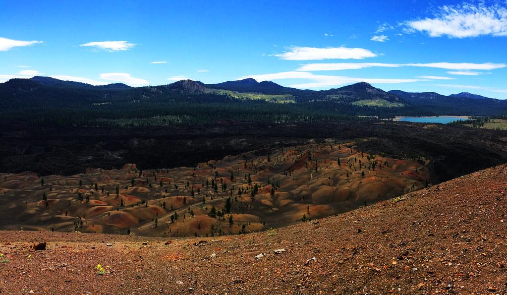 Cinder Cone, Lassen Volcanic, California