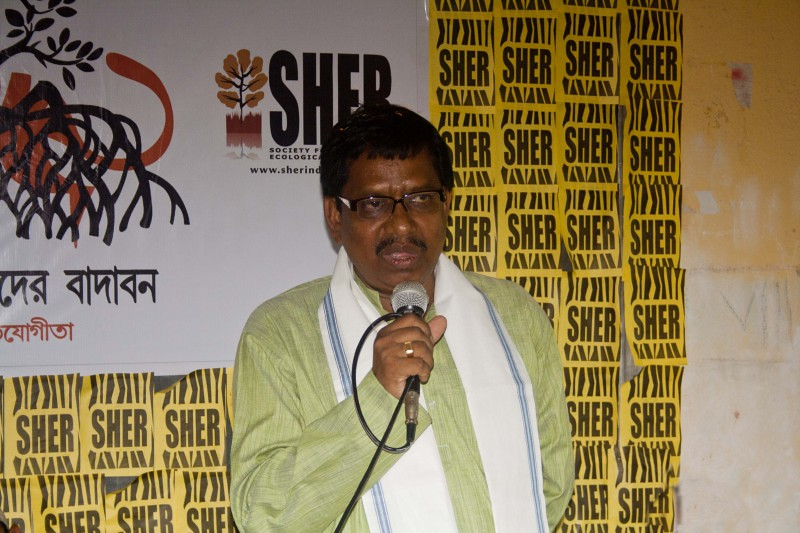Mr Binoy Krishna Burman - Minister of Forests, Government of West Bengal - Sundarban, India