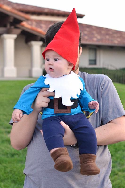 lawn gnome baby costume