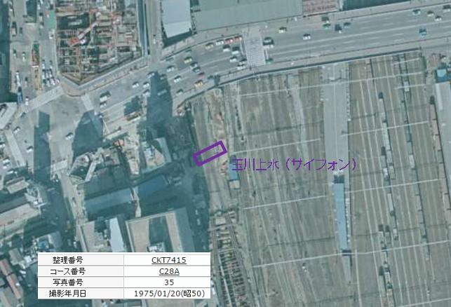 小田急新宿駅と玉川上水6