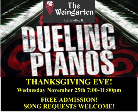 Dueling Pianos 11-25-15